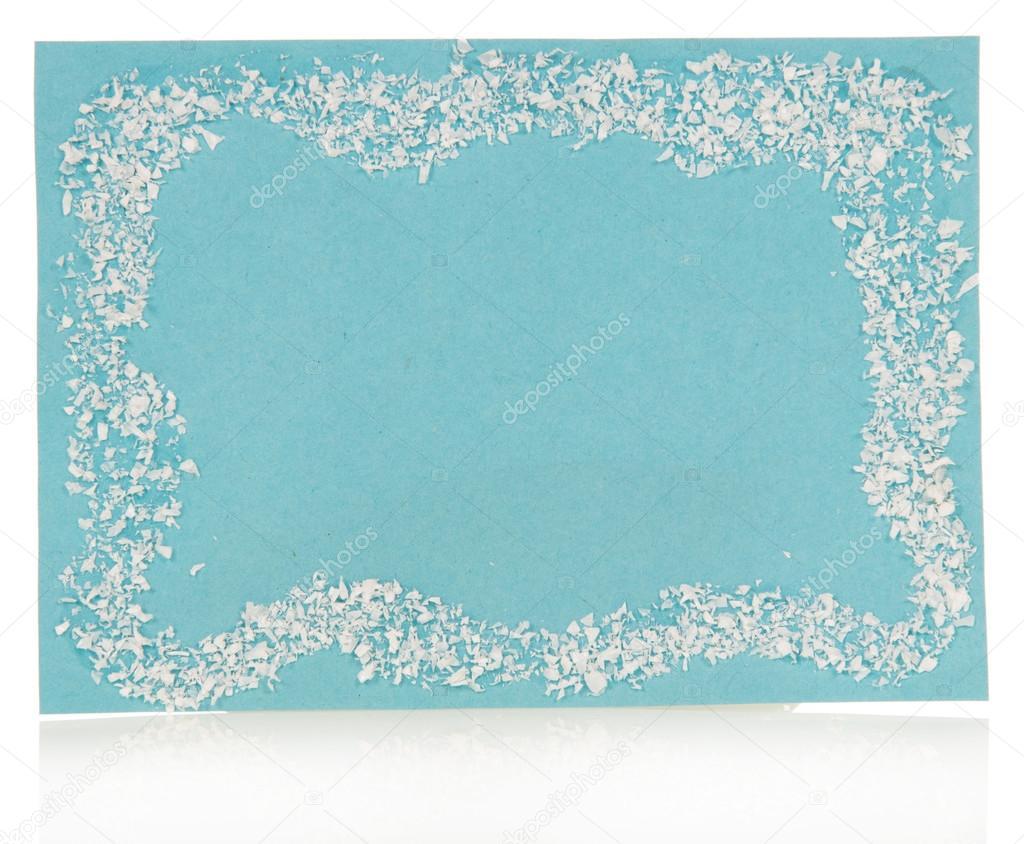 Christmas Notecard.Blue Christmas Note Card Stock Photo C Laboko 36919021