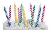 Fotografie Happy birthday candles