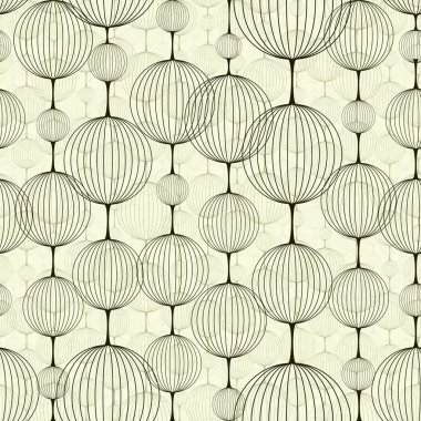 Abstract seamless pattern, background. stock vector