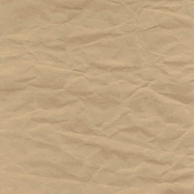 Old Texture of crumpled craft paper, background.