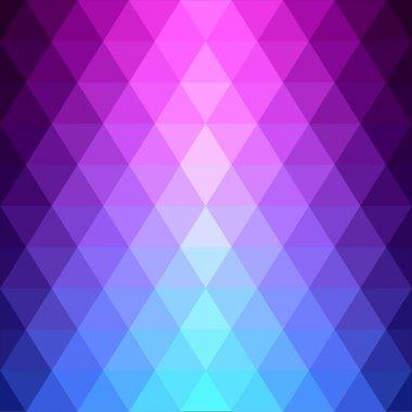 Seamless geometric pattern made triangles.