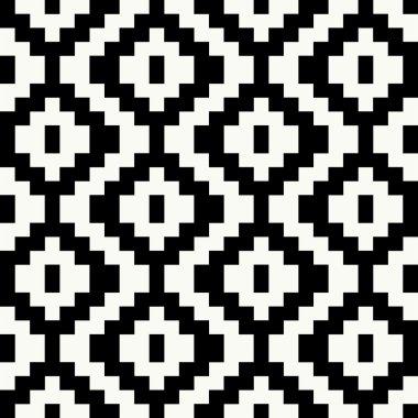 Pixel seamless pattern