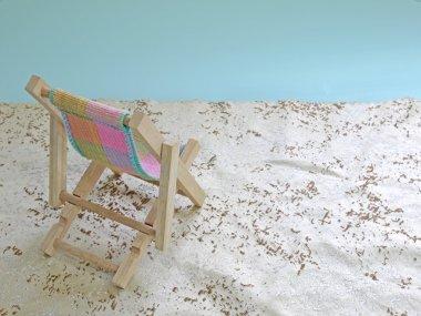 Mock beach