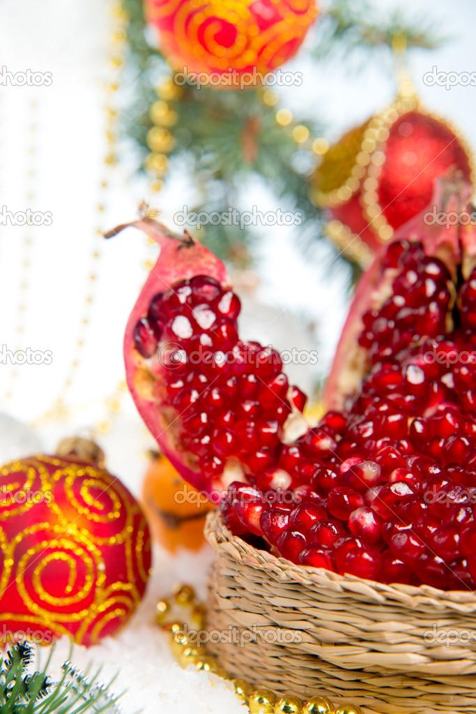 Granada El De FrescaAdornos Una Navideños Para Navidad Árbol En QorshdtxCB