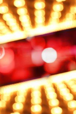 Illuminated blur background
