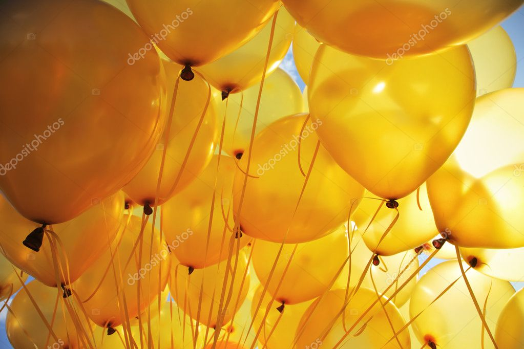 Balloons background