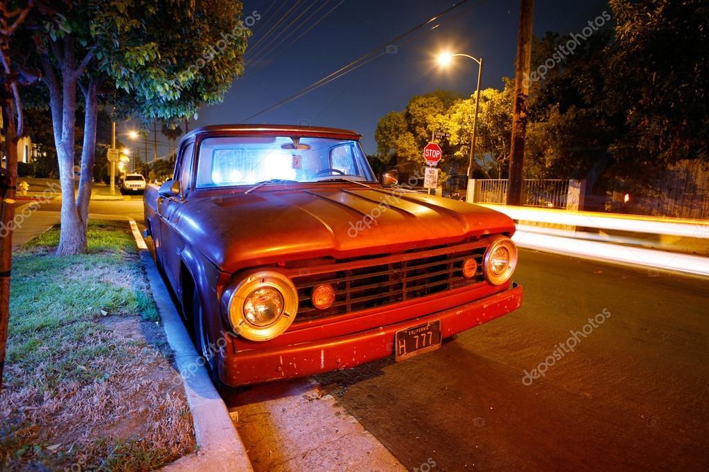 Vintage American pickup truck – Stock Editorial Photo © logoboom ...