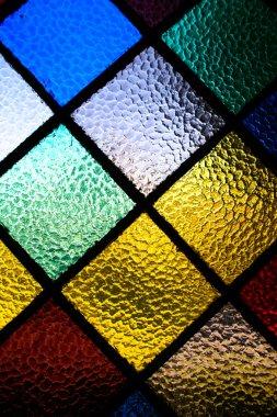 Abstract vitrage window pattern stock vector