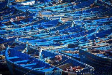 Fishing boats in Essaouira, Morocco