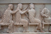 Fotografie Ancient Greek Frieze