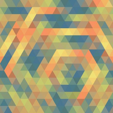 Seamless Triangle Pattern, Background, Texture Vector Geometric clip art vector