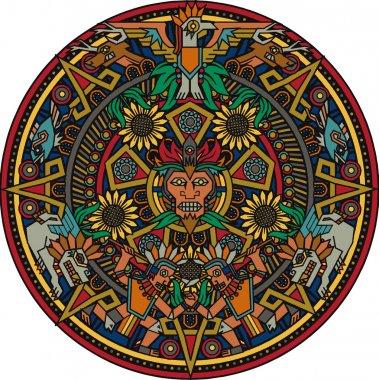 Aztec Mandala
