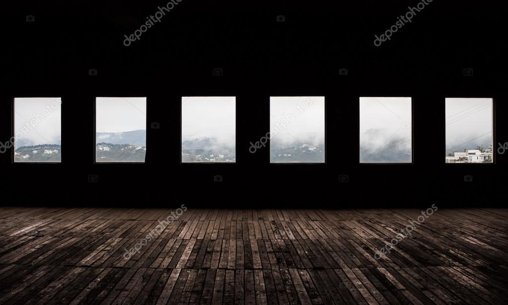 фото темная комната
