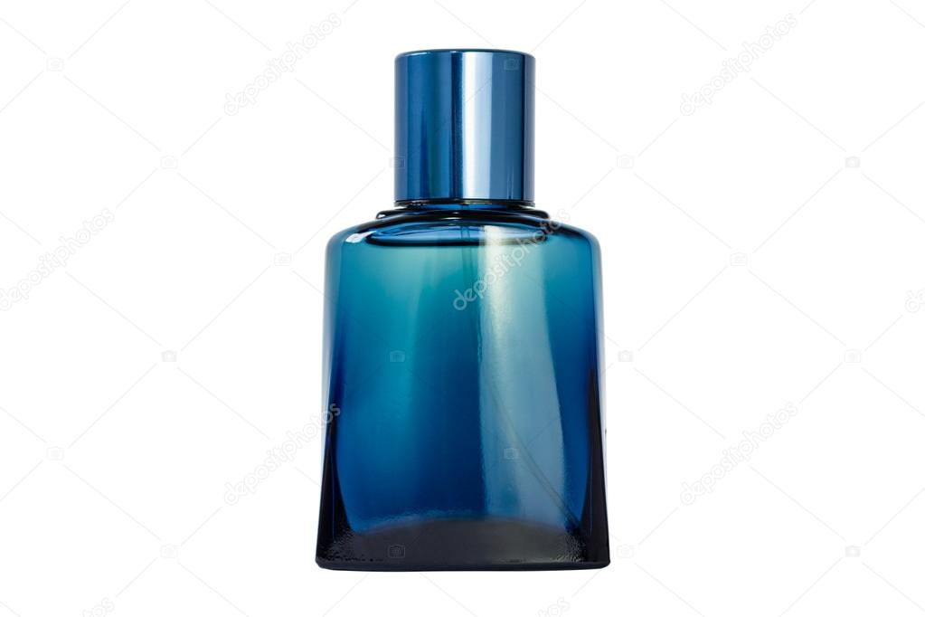 m nner parf m blaue flasche stockfoto fredcardoso. Black Bedroom Furniture Sets. Home Design Ideas