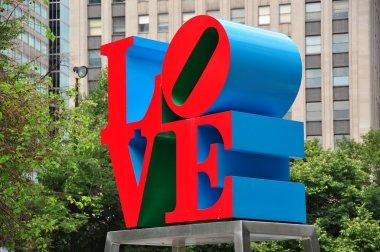 Philadelphia, PA: Robert Indiana's Love Sculpture