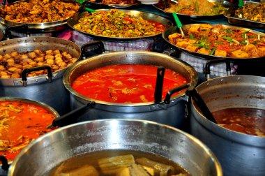 Bangkok, Thailand: Display of Thai Foods at Or Tor Kor Market