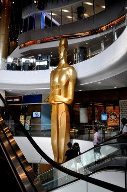 Bangkok, Thailand: Giant Oscar Statue at Terminal 21 Shopping Center