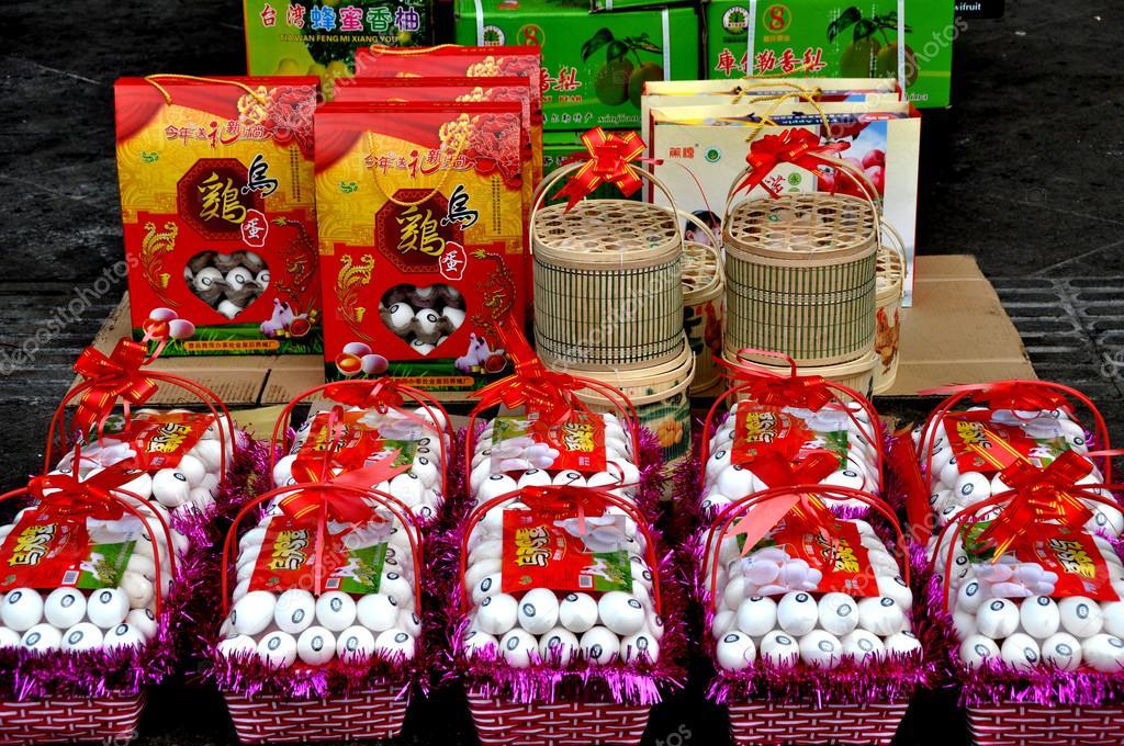 Pengzhou China Chinese New Year Gift Eggs Stock Editorial