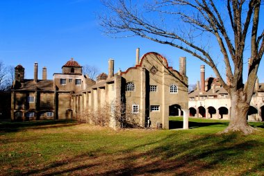 Moravian Pottery and Tile Works Factory in Doylestown, PA