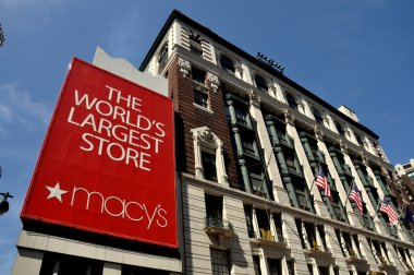 NYC:  Macy's Department Store
