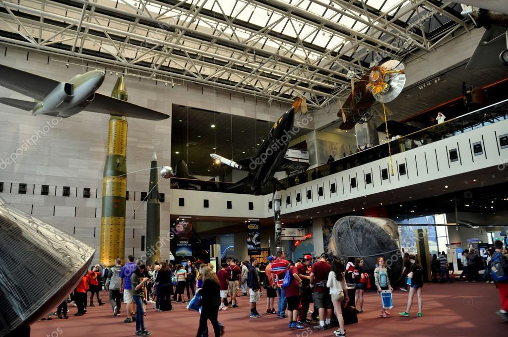 Washington, DC: NASA Museum – Stock Editorial Photo ...
