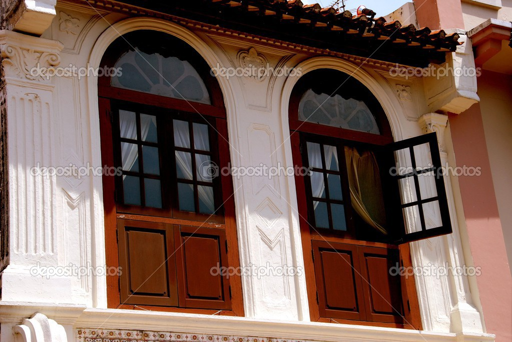 Melaka, Malaysia: Chinese House on Jonker Walk – Stock Editorial