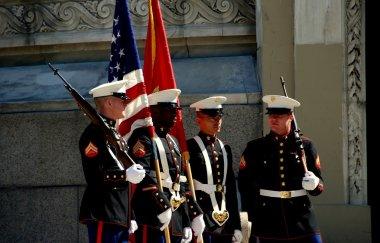 NYC: U. S. Marines at Memorial Day Ceremonies