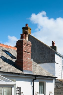 Roofs in Port Isaac