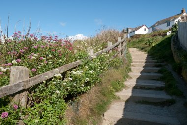 Steps in Port Isaac