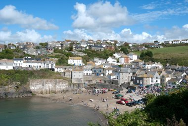 Party in Port Isaac