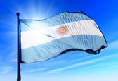 Fotografie Argentina flag waving on the wind
