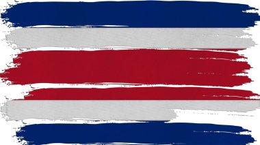 Costa Rica Flag tinted horizontal texture