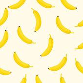 Bezešvé pozadí s žluté banány vektorové ilustrace