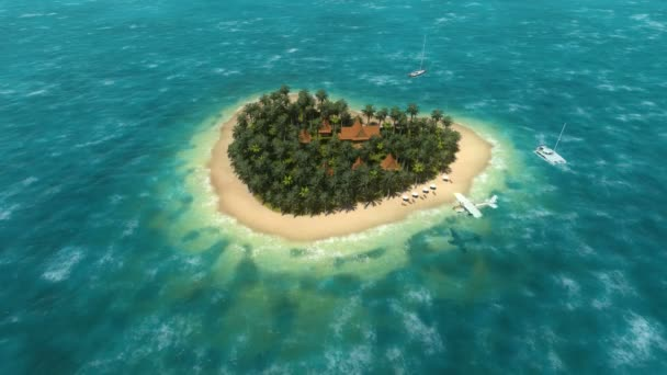 sík felett a szív-alakú sziget 1