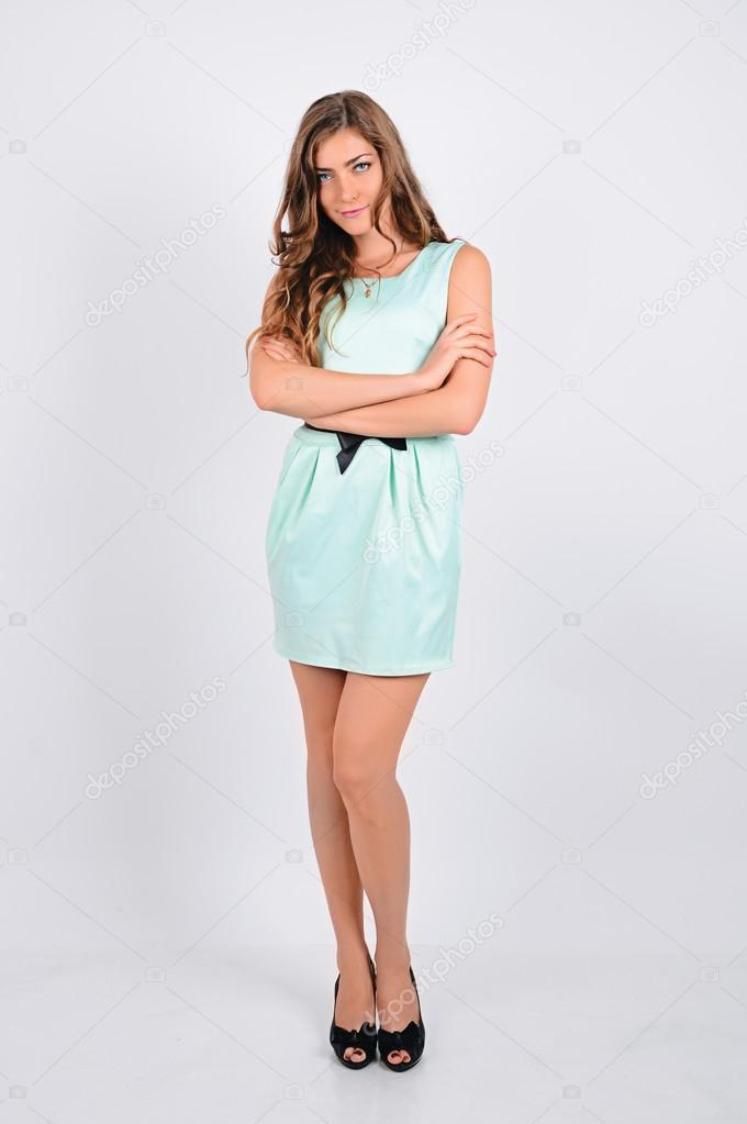 Девушка позирует флто фото 18-571