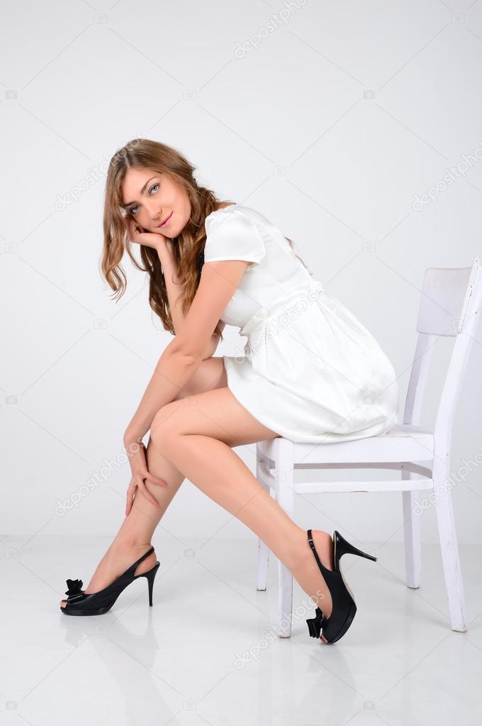 3f42b3a40 una chica hermosa modelo con ojos azules