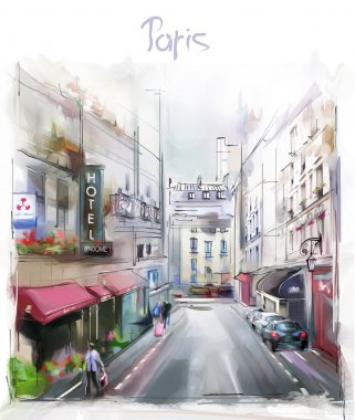 Illustration of Paris