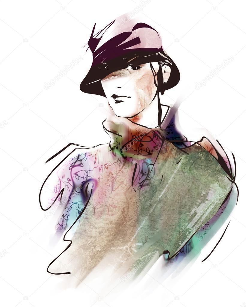 dibujo hermosa mujer dibujo de mujer dibujo de retrato retrato retrato de hermosa rqxr0tn6d