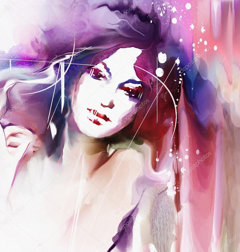 dessin portrait de femme avec couronne photographie teniteni 48805431. Black Bedroom Furniture Sets. Home Design Ideas