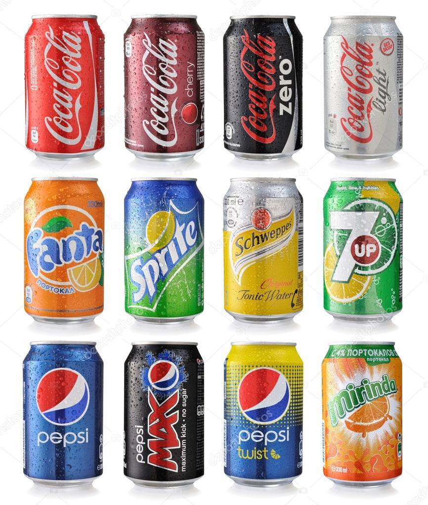 Soda drinks