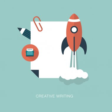 Creative writing concept