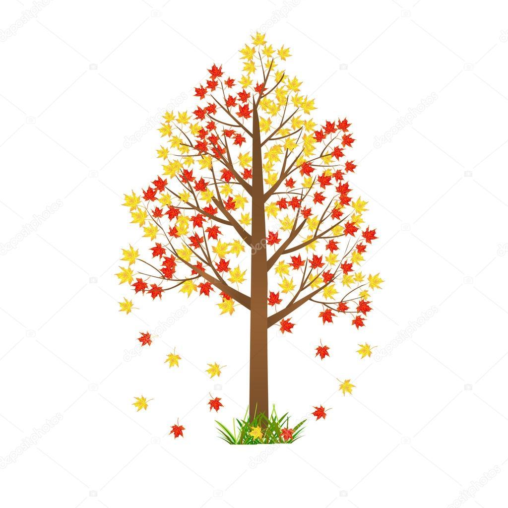 Sonbahar Ağaç çizimi Stok Vektör Iris828 47451231