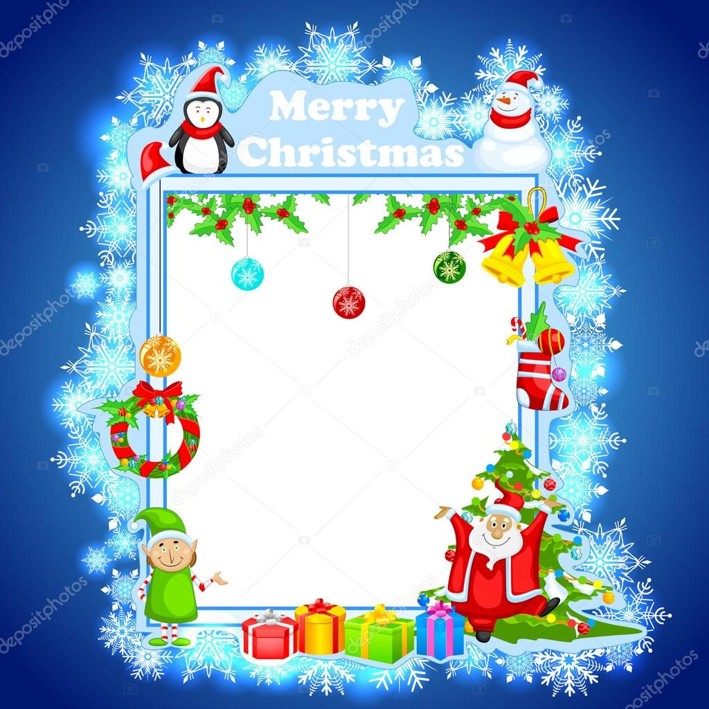 Souhaiter Joyeux Noel.Souhaiter Joyeux Noel Pere Noel Image Vectorielle