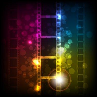 Film Stripe Background