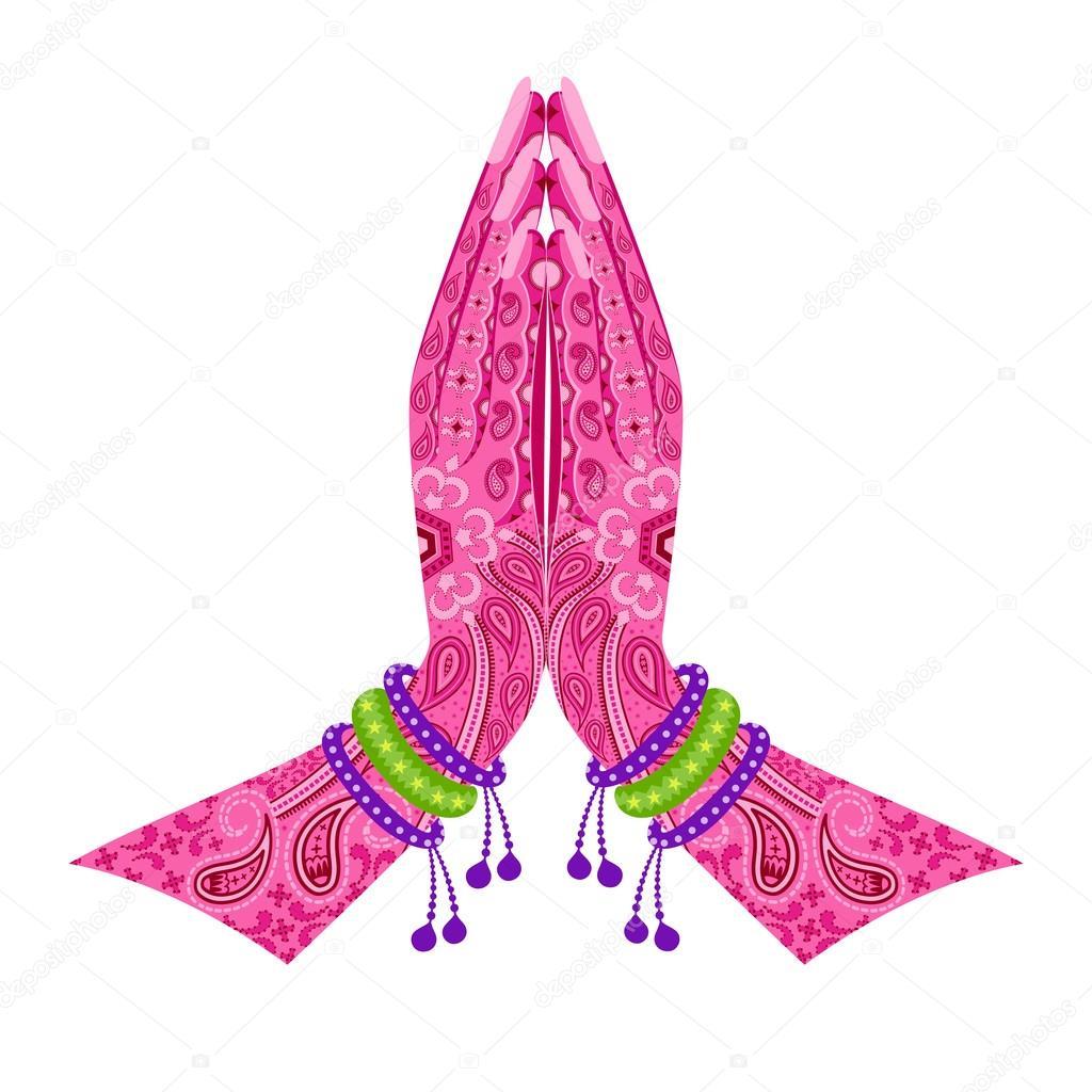 Namaste Stock Vectors Royalty Free Namaste Illustrations