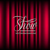 Photo Theatre Show Vector Background