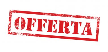 Offerta Timbro - Offer stamp