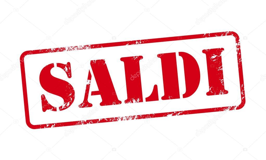 hot sale online 54257 e921c Saldi - timbro di vendita in Italia — Vettoriali Stock ...
