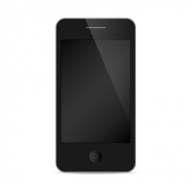 IPhone Style Isolated On White