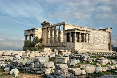 """Картина, постер, плакат, фотообои """"Парфенон на Акрополе в Афинах, Греция"""", артикул 49816887"""